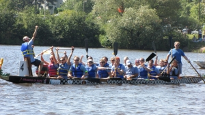 Our Dragon Boat Team