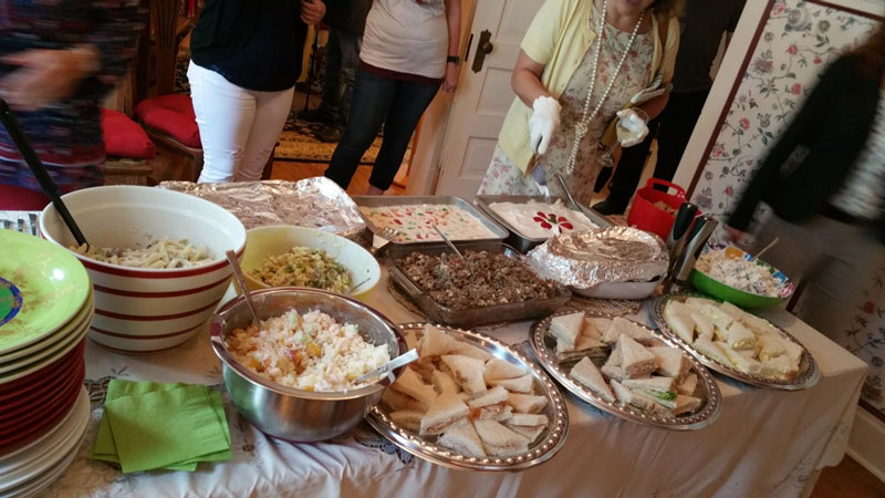 Photos from the Church Basement and Vegan/Vegetarian Event